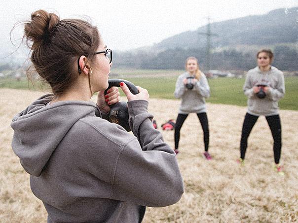 Damen Training